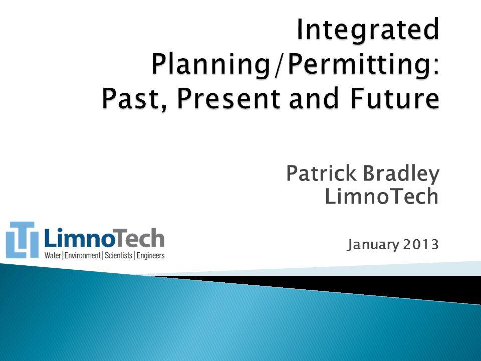 Patrick Bradley LimnoTech January 2013