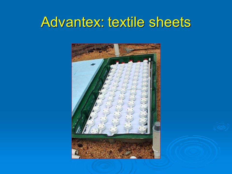Advantex: textile sheets