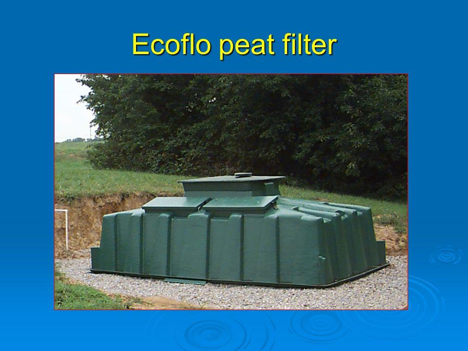Ecoflo peat filter
