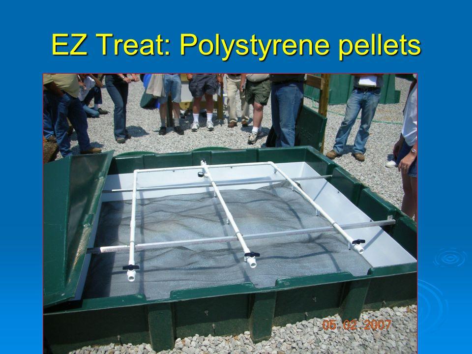 EZ Treat: Polystyrene pellets