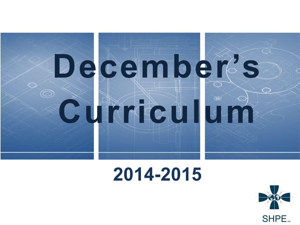 December's Curriculum 2014-2015