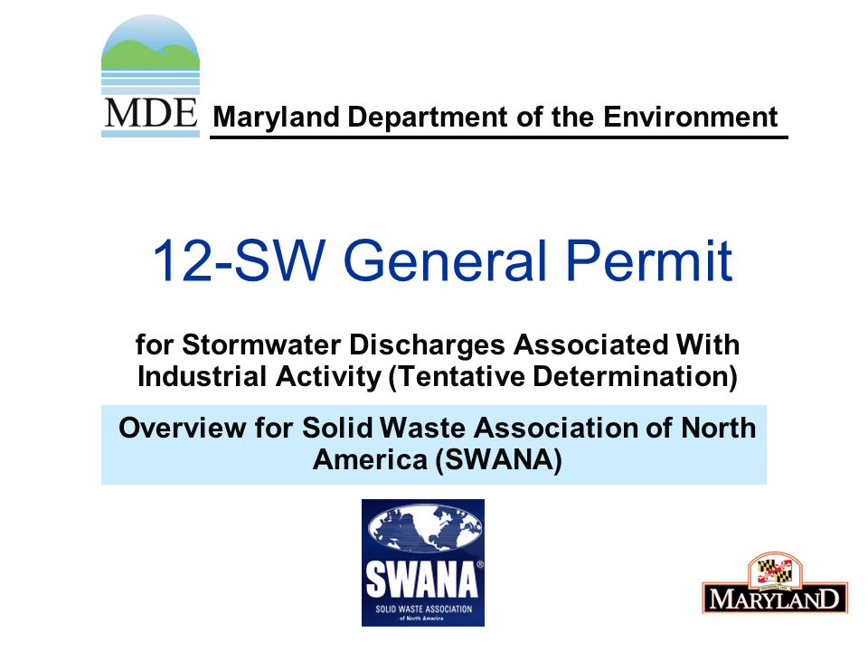 Important definition(s) Impervious Surface Treatment: Implementing the requirements for stormwater management as prescribed in the Department's 2000 Maryland Stormwater Design Manual, Volumes I & II or the Design Manual for impervious area.