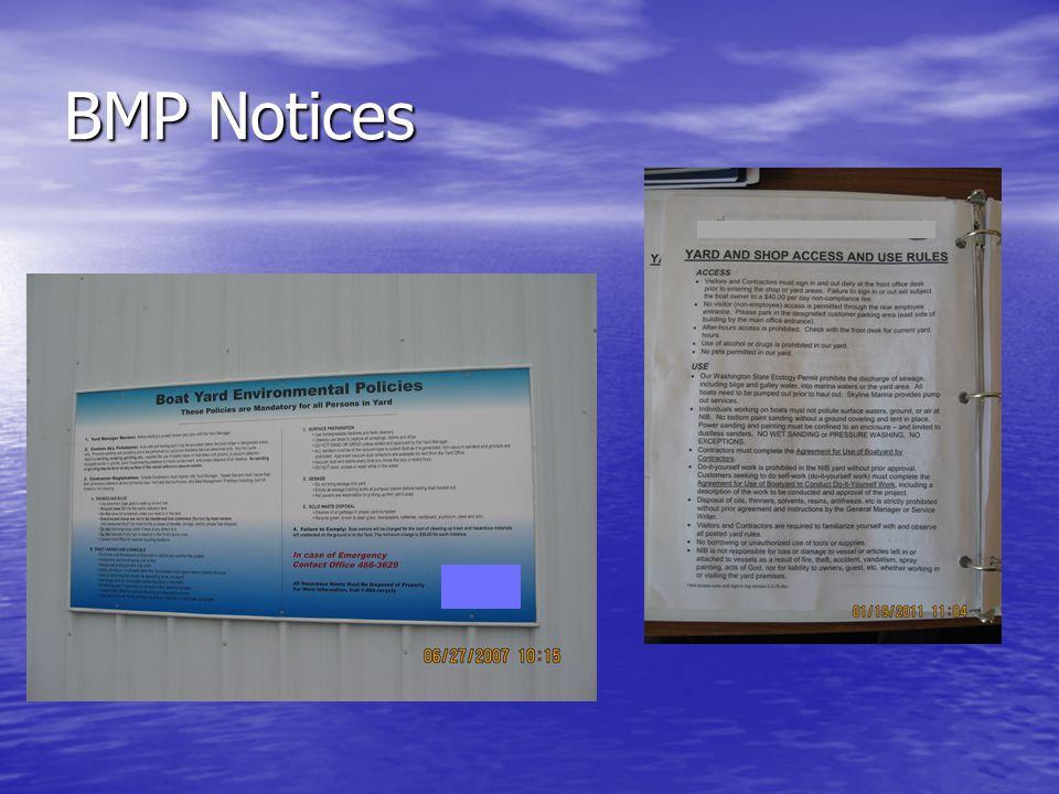 BMP Notices