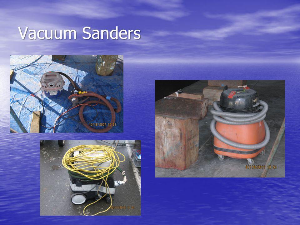 Vacuum Sanders