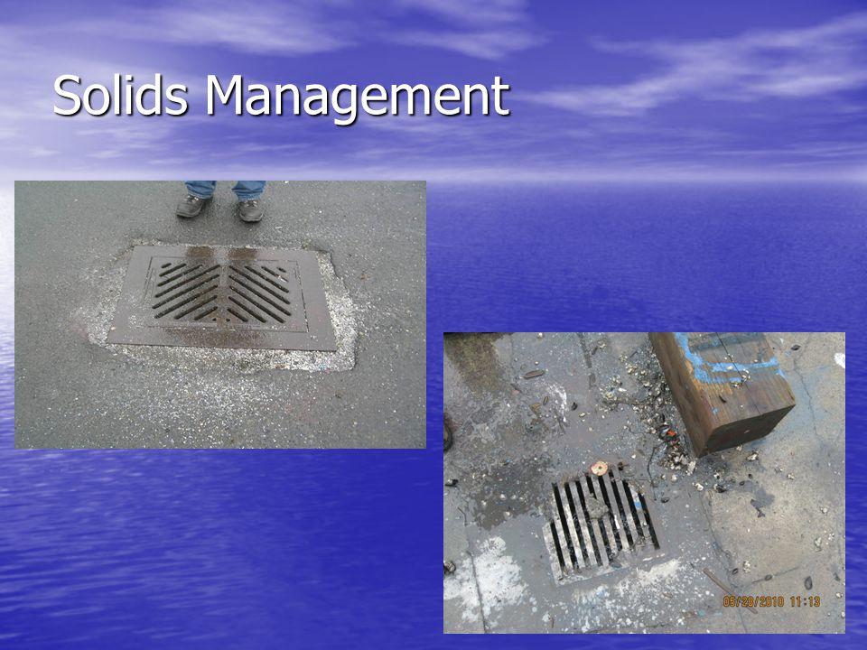 Solids Management