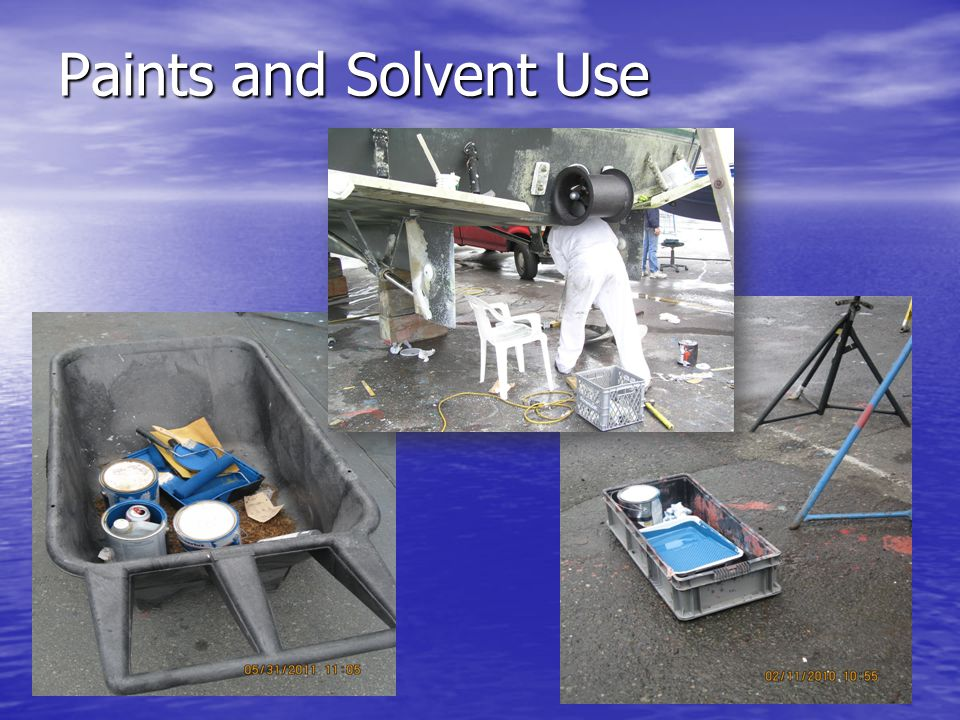 Paints and Solvent Use