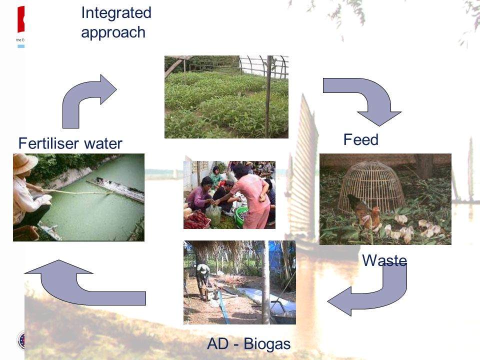 Irrigation Feed Waste AD - Biogas Fertiliser water Integrated approach