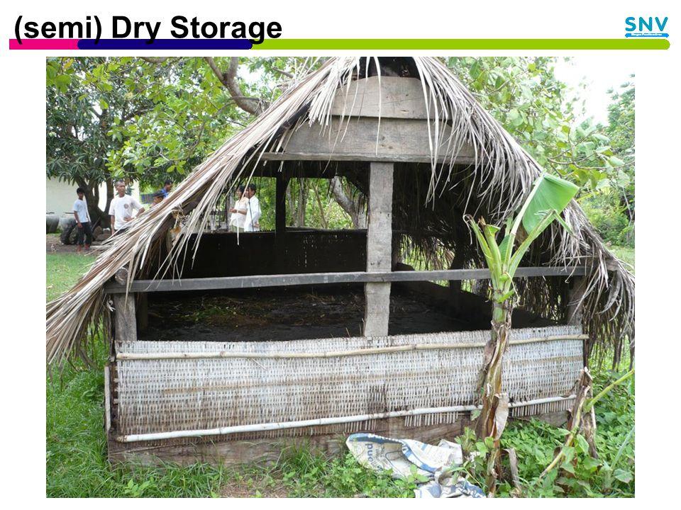 (semi) Dry Storage