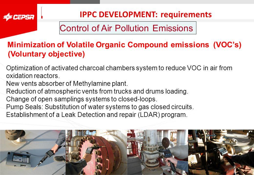 Pagina 1 de 3 CEPSA Química QUIMICA CEPSA Química has a Cogeneration plant that has an independent IPPC Permit.