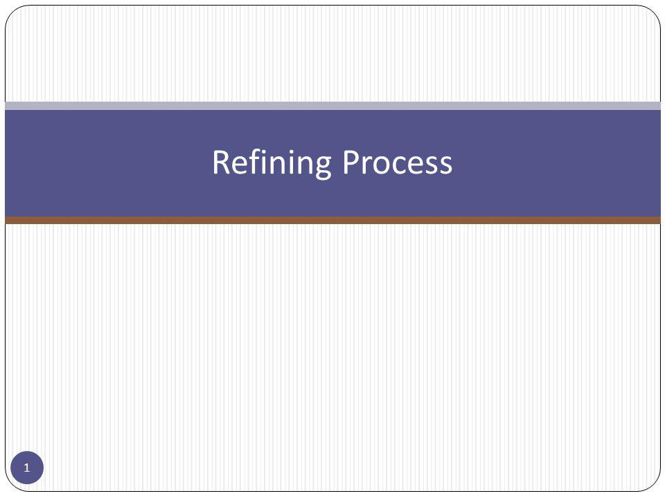 Refining Process 1