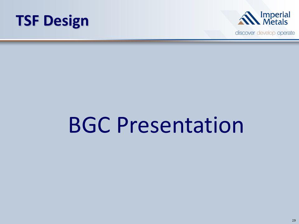 TSF Design 29 BGC Presentation