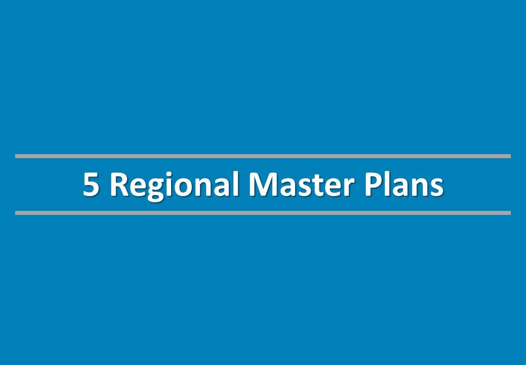 5 Regional Master Plans