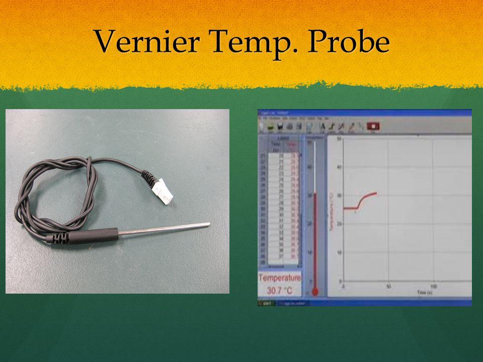 Vernier Temp. Probe