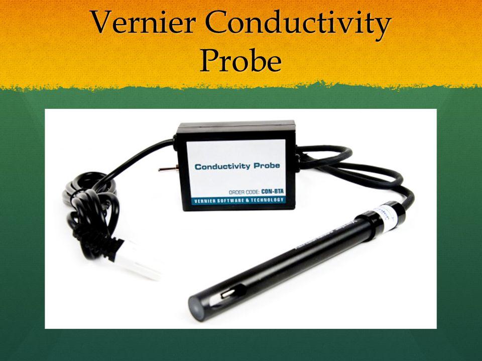 Vernier Conductivity Probe