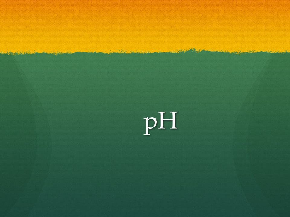 Why is pH important.pH is an important indication of water quality.