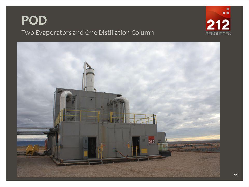 POD Two Evaporators and One Distillation Column 11