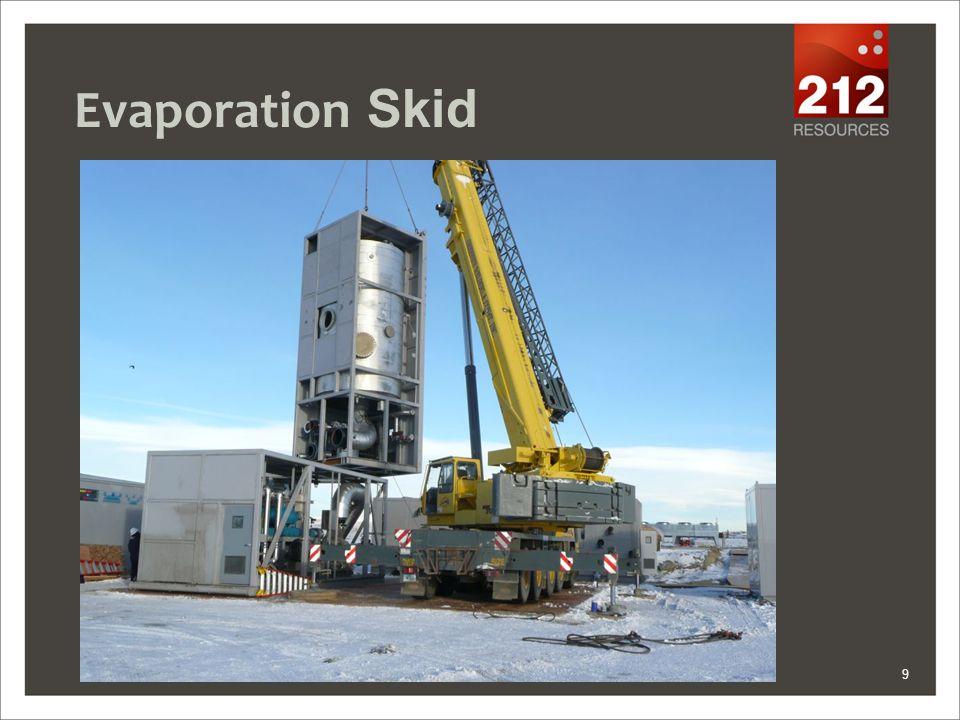 Evaporation Skid 9