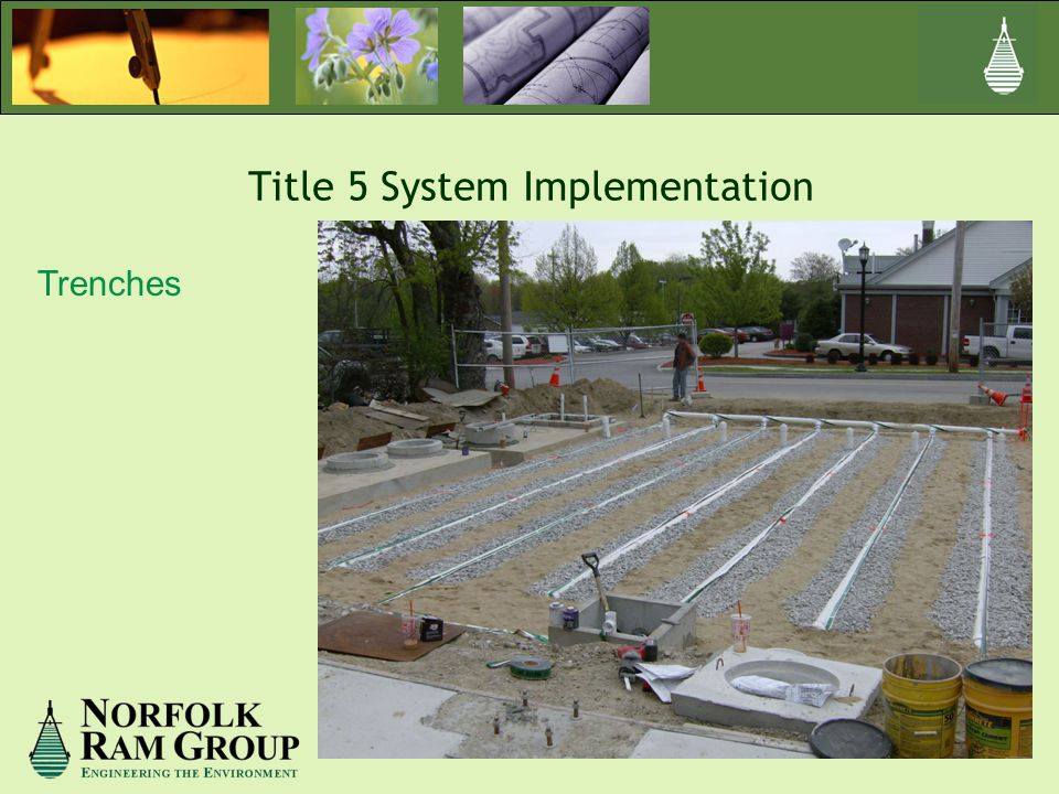 Title 5 System Implementation Trenches