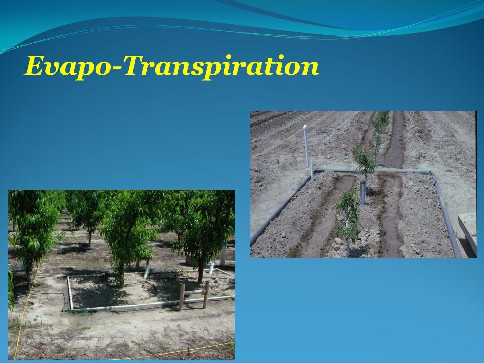 Evapo-Transpiration