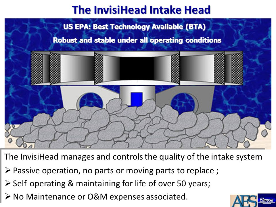 The InvisiHead manages and controls the quality of the intake system  Passive operation, no parts or moving parts to replace ;  Self-operating & mai