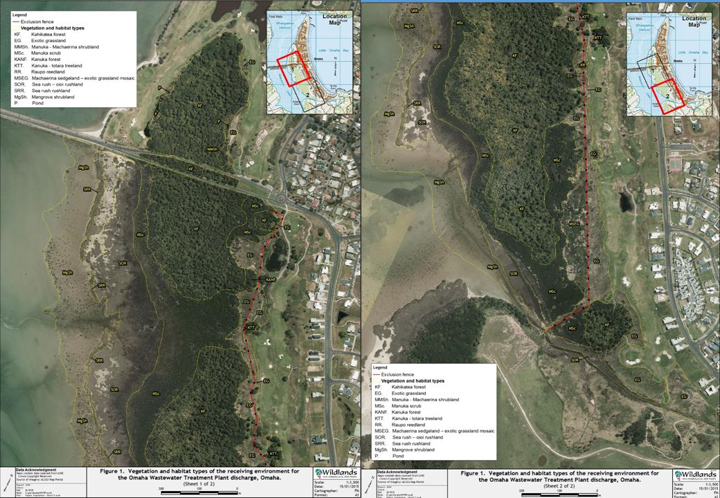 Forest/wetland – map to be inserted