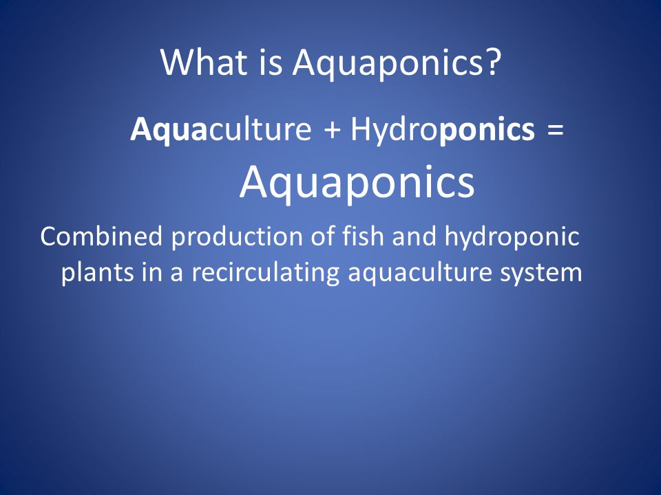 What is Hydroponics? Hydroponics is a method of growing plants using mineral nutrient solutions, in water, without soil.