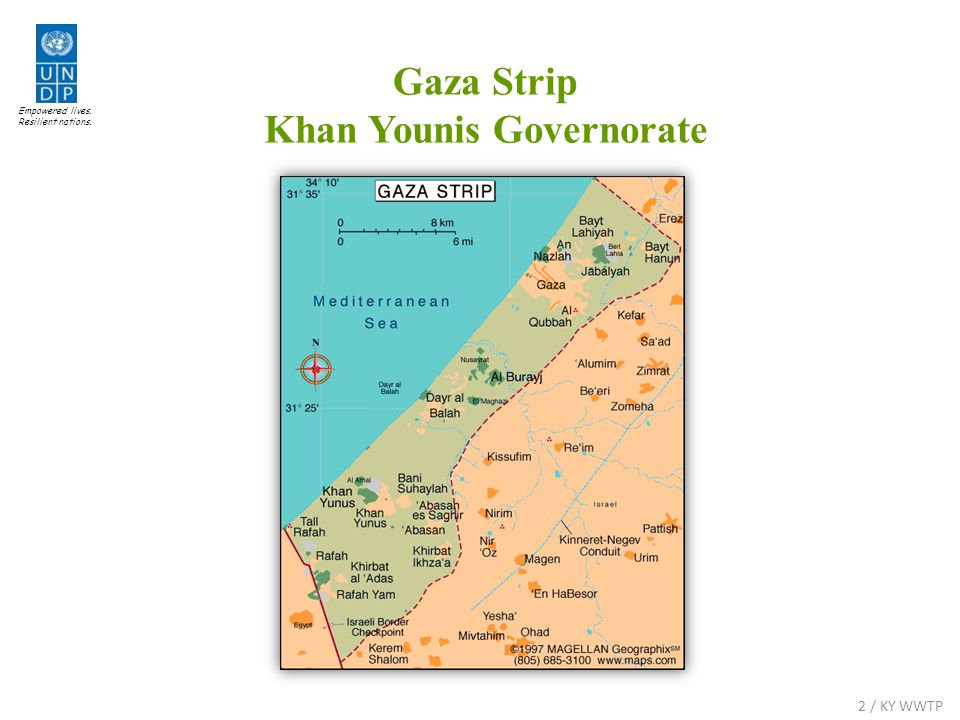 Empowered lives. Resilient nations. Gaza Strip Khan Younis Governorate 2 / KY WWTP