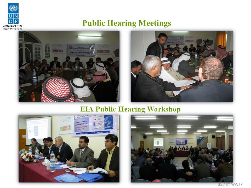 Public Hearing Meetings Empowered lives. Resilient nations.
