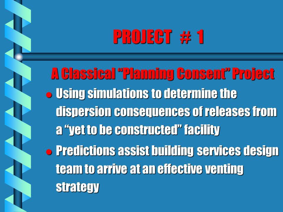 Project # 3 Compare & Contrast Discharge Strategies l Problem Definition l Study Methodology l Reference Case Description è Description of CFD Model l Summary of Results Obtained l Conclusions