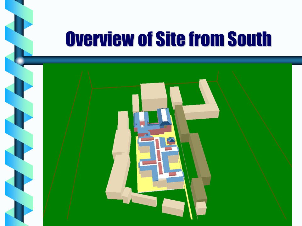 Overview of Site from South