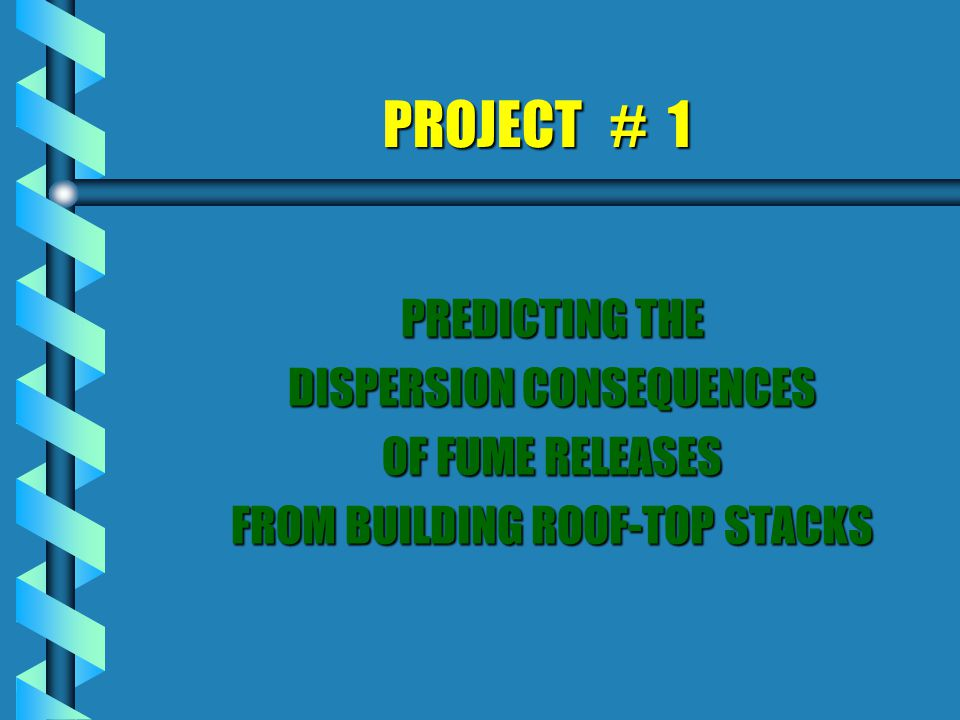 Consequences of release dispersion from an urban university research facility è Industrial Context l Objectives of Study l Benefits of using CFD l Description of CFD Model l Outline of simulations performed l Sample Results Obtained l Conclusions