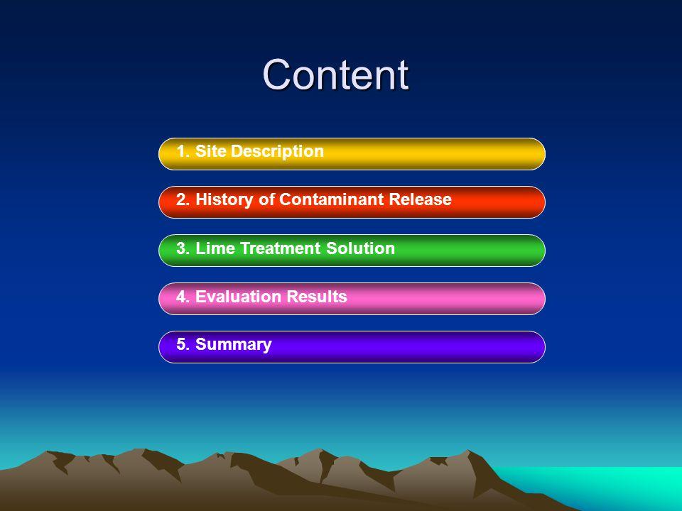 Content 1. SITE DESCRIPTION1. Site Description 2.