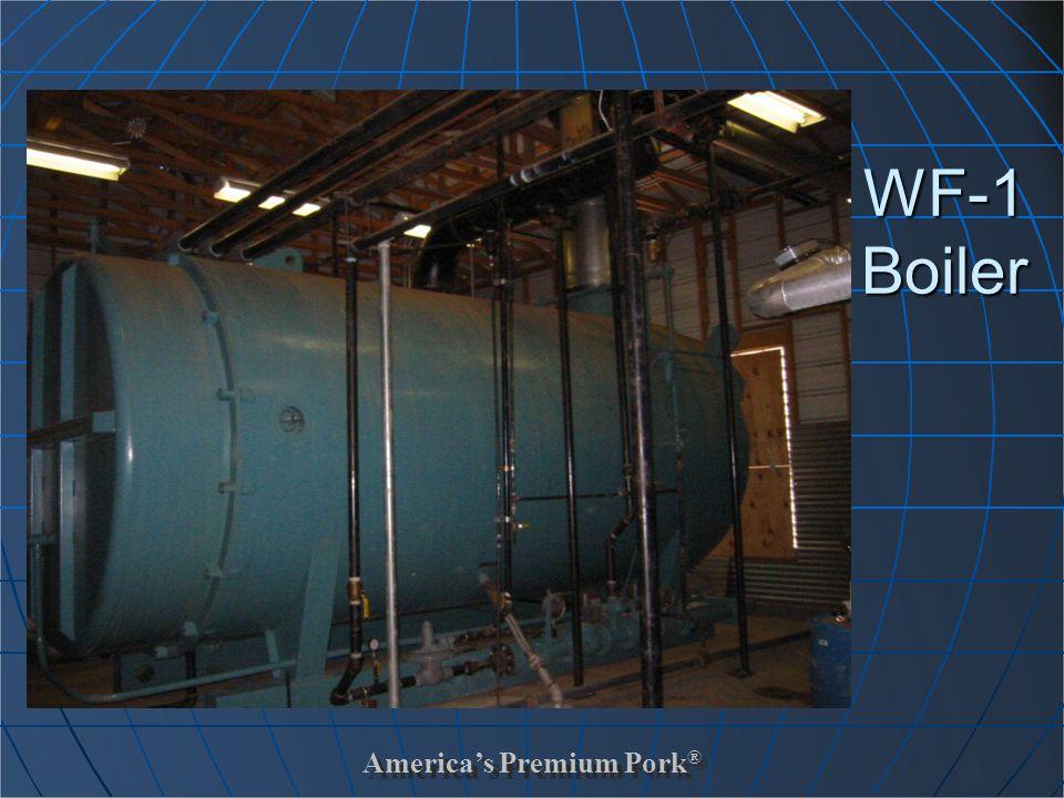 America's Premium Pork ® WF-1 Boiler