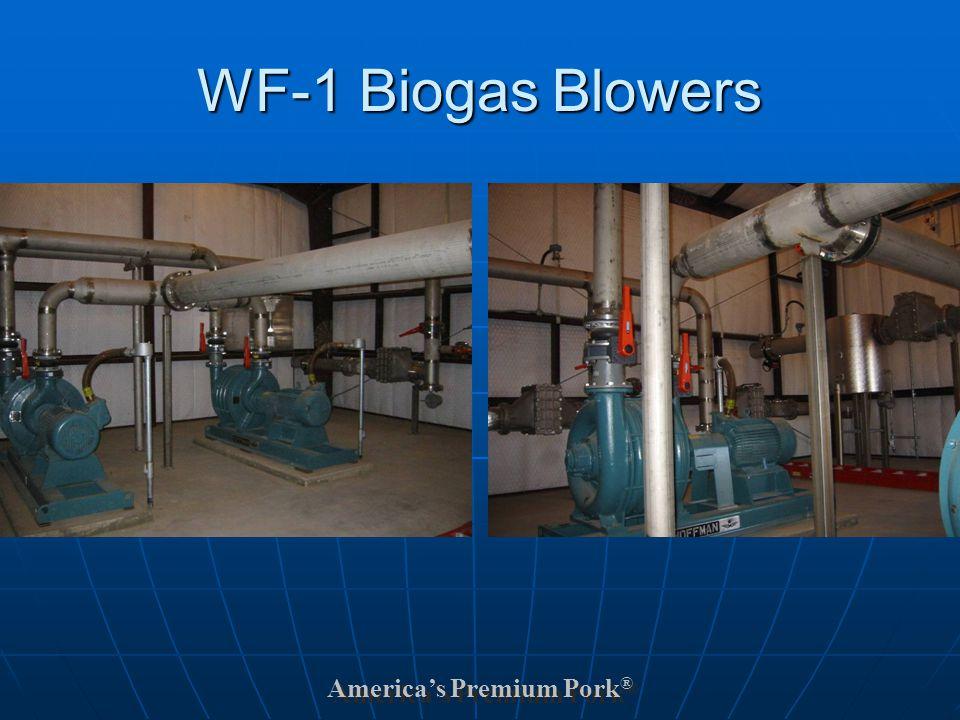America's Premium Pork ® WF-1 Biogas Blowers