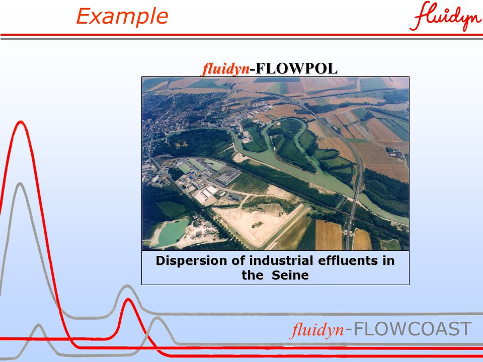 Example fluidyn -FLOWCOAST fluidyn-FLOWPOL Dispersion of industrial effluents in the Seine