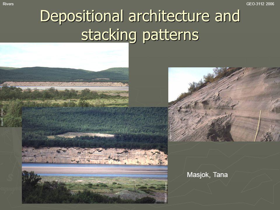 RiversGEO-3112 2006 Depositional architecture and stacking patterns Masjok, Tana
