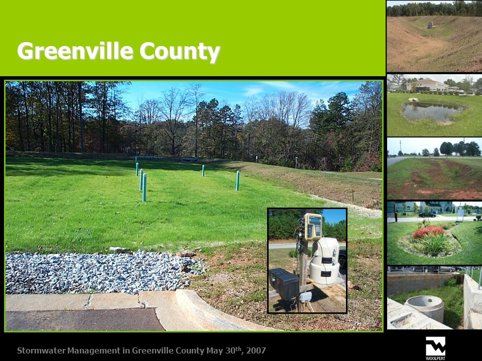 Stormwater Management in Greenville County May 30 th, 2007 Greenville County