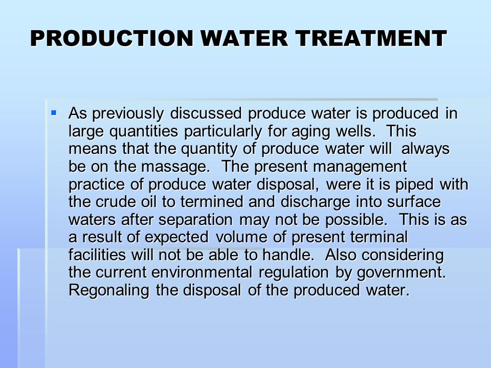 COMPOSITION OF PRODUCE OF WATER.