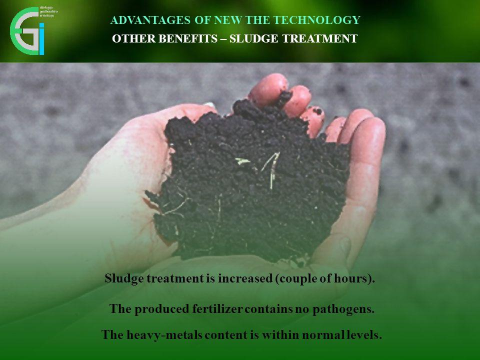 Čas izgradnje čistilne naprave se skrajša 3 – krat. Inovativen pristop omogoča vidnemu okolju prijazno umestitev v prostor. ADVANTAGES OF NEW THE TECH