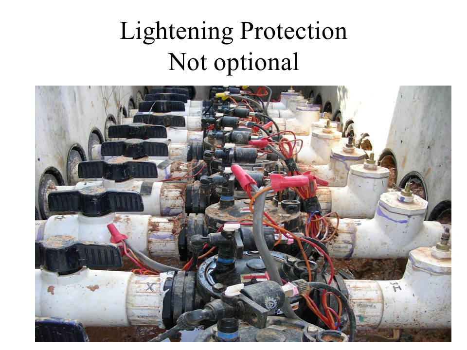 Lightening Protection Not optional