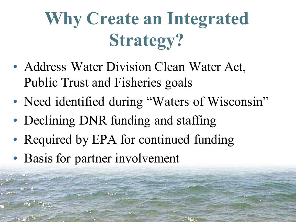 Why Create an Integrated Strategy.