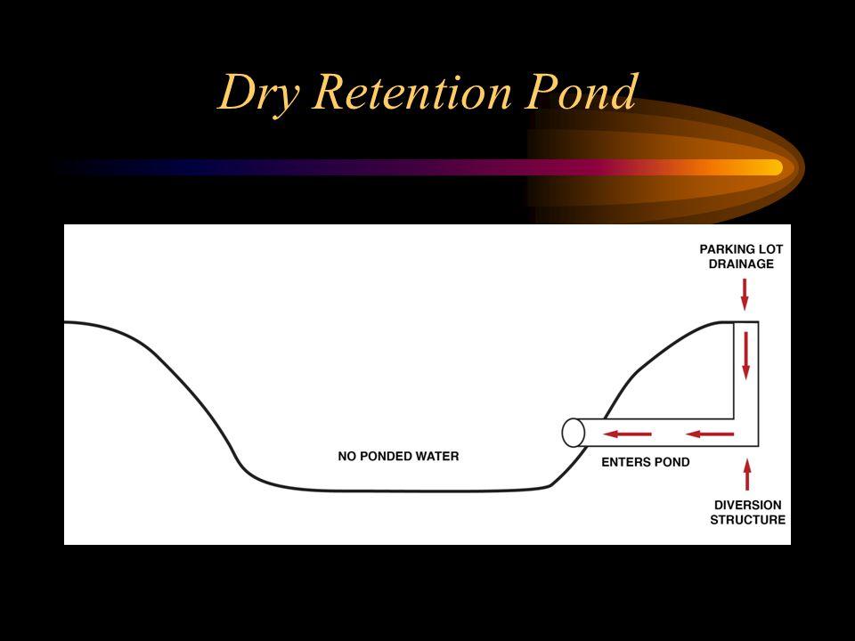 Dry Retention Pond