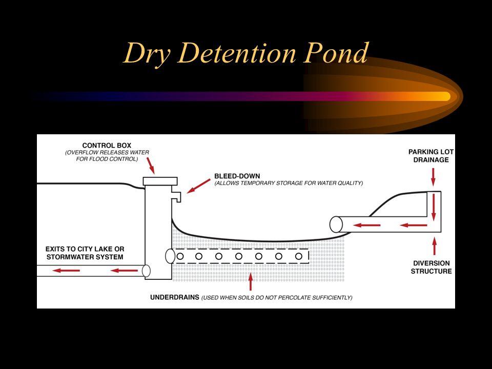 Dry Detention Pond