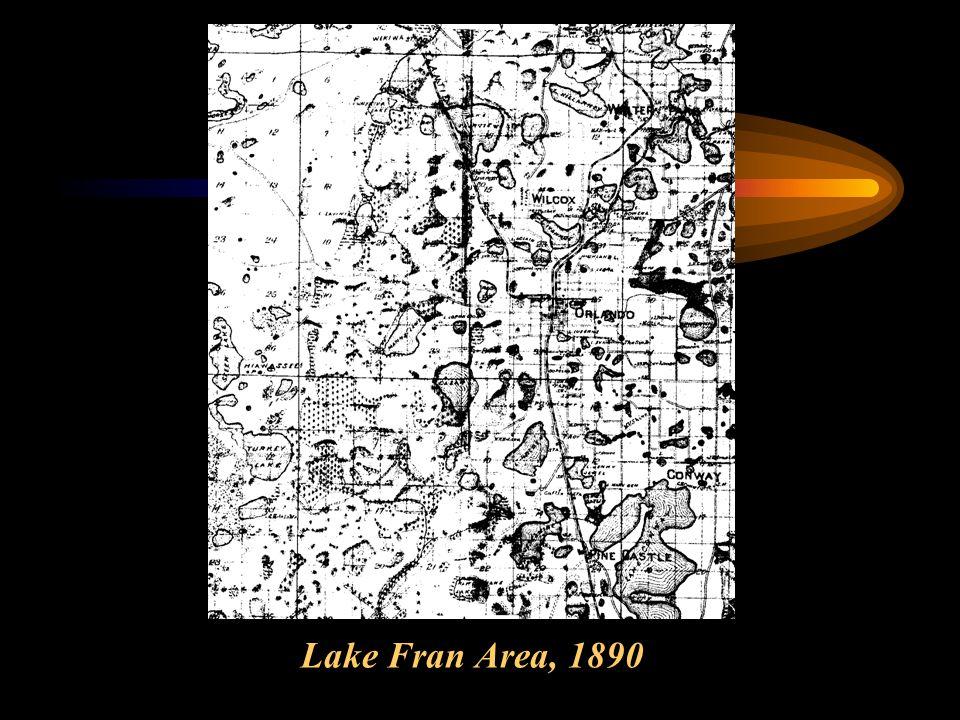 Lake Fran Area, 1890