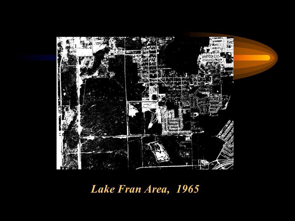 Lake Fran Area, 1965
