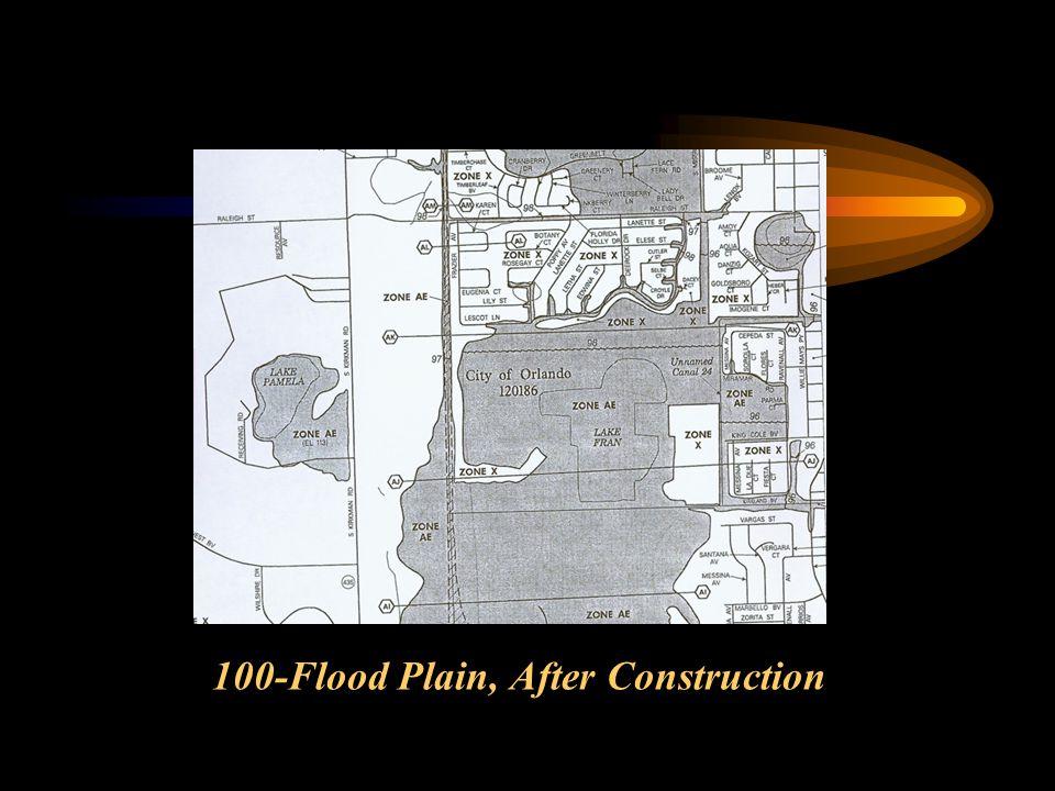 100-Flood Plain, After Construction