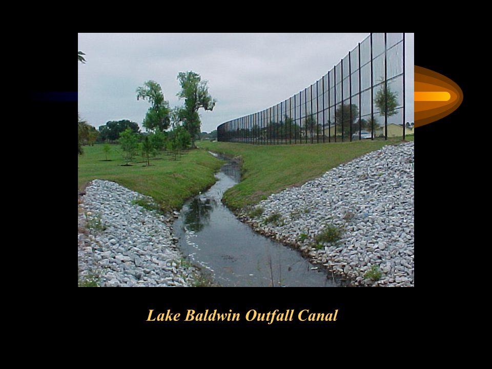 Lake Baldwin Outfall Canal