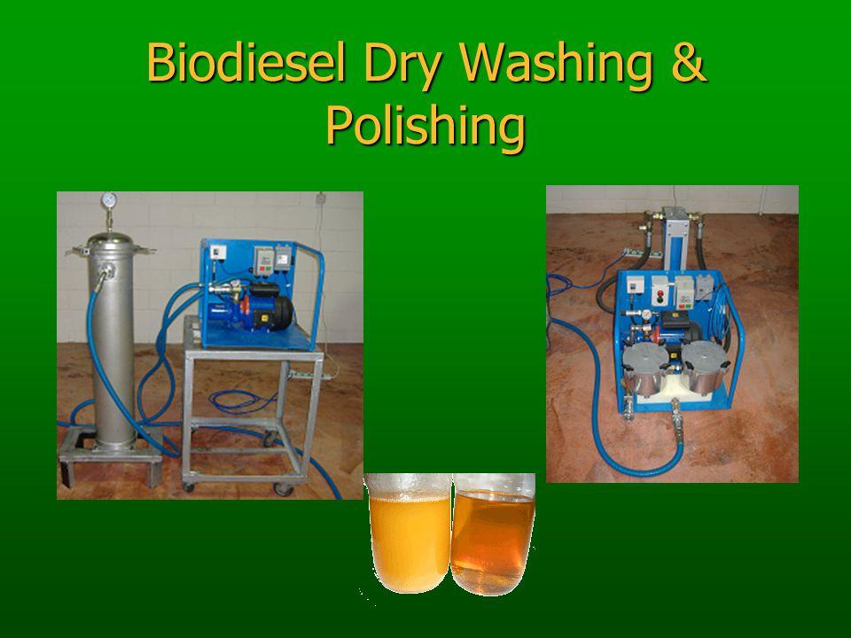 Biodiesel Dry Washing & Polishing