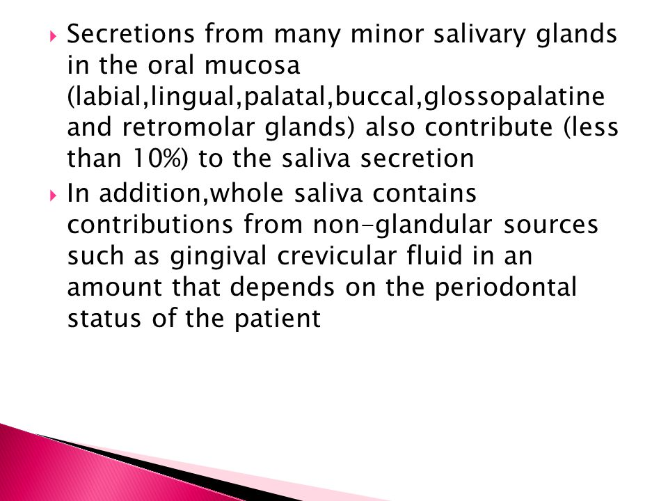  Signs: Mucosal dryness:dry glazed and red oral mucosa Lobulation and fissuring of the dorsal part of tongue Atrophy of filiform papillae Dry lips,angular cheilitis Increased caries experience Oral candidiasis