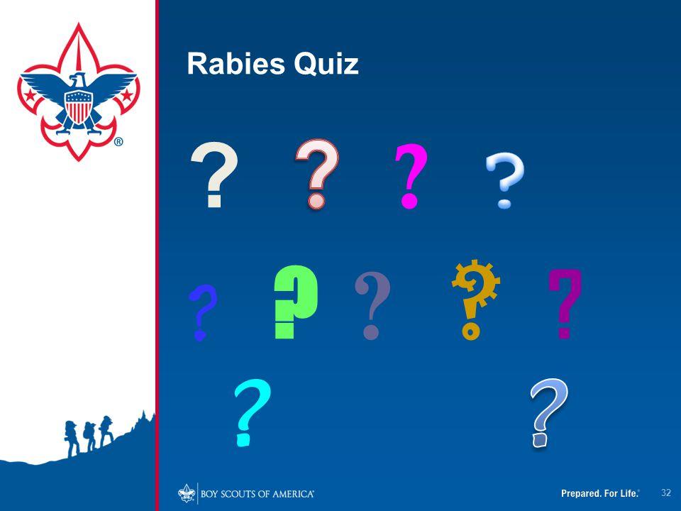 Rabies Quiz 32
